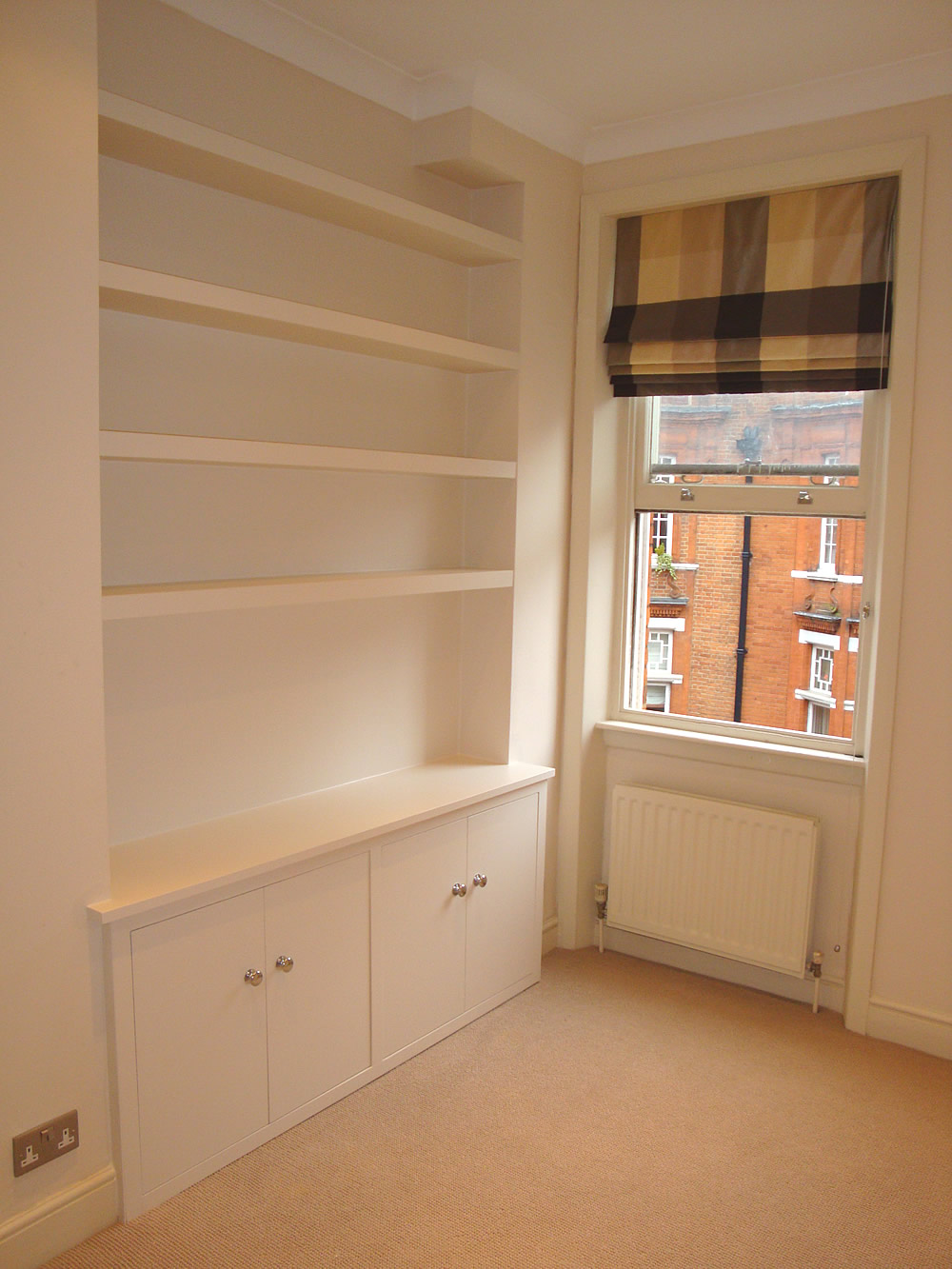 Build Bookcase On Wall