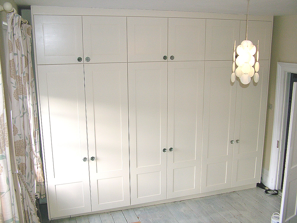Made To Measure Twelve Door Wardrobe By London Carpenter